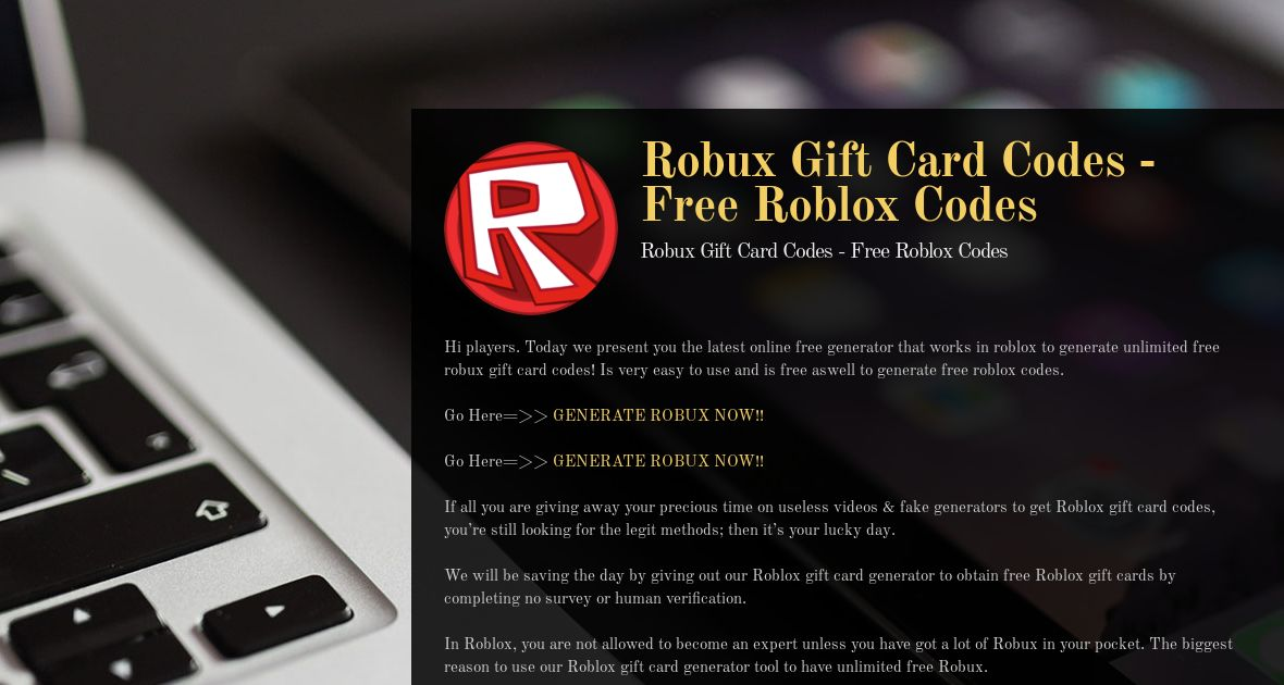 Roblox Robux Gift Cards Codes Robux Gift Card Codes Free Roblox Codes