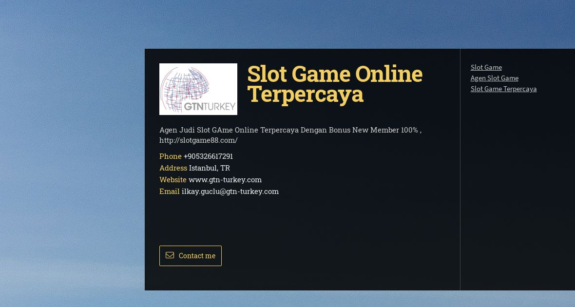 Gtn Turkey Dis Tic Ltd Sti Wiseintro Portfolio