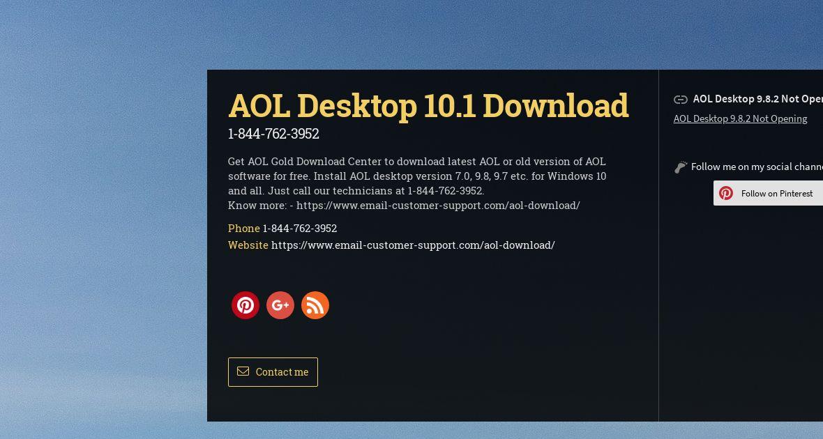 TÉLÉCHARGER AOL 9.8.2