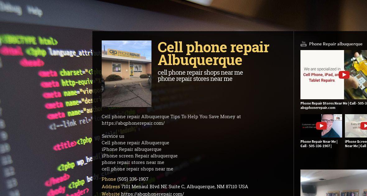 Cell Phone Repair Albuquerque >> Wiseintro Portfolio