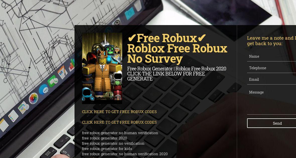 How To Get Free Robux No Scams No Human Verification Wiseintro Portfolio